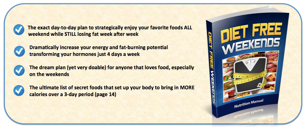 Diet Free Weekends - Health Ebook's blog
